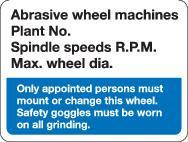 Abrasive Wheel Machines