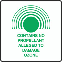Contains No Propellant Alleged To Damage Ozone