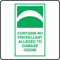 Contains No Propellant Alleged To Damage Ozone 1