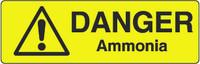 Danger Ammonia Marker