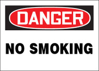 Danger - No Smoking - Multipack Signs