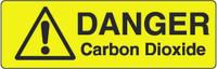 Danger Carbon Dioxide Marker