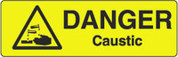 Danger Caustic Marker