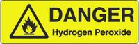 Danger Hydrogen Peroxide Marker