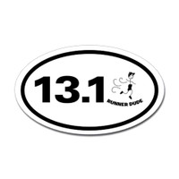 13.1 Oval Bumper Sticker #7