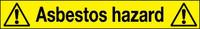 Asbestos Hazard Marker