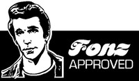 Fonz Approved - Bumper Sticker