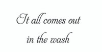 It All Comes Out... (Wall Art  Decal)