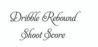 Dribble Rebound... (Wall Art  Decal)