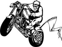Color Pride Motorcycle Decal