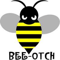 Transformers Bumblebee Bee-Otch Vehicle Sticker