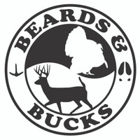 Beards and Bucks Hunting Decal