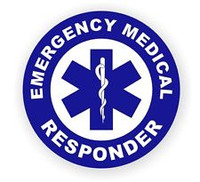 Emergency Medical Responder Hardhat Sticker