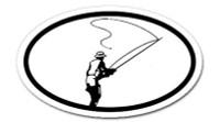 Fly Fishing  -  Bumper Sticker