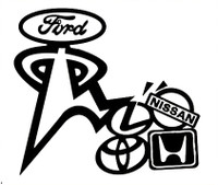Ford Number One Decal
