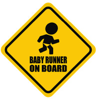 Baby Runner On Board Sticker