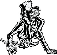 Half A Nervous Zombie