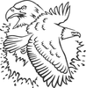 American Pride Bald Eagle & American Flag Decal