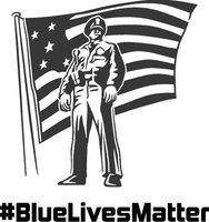 Police Lives Matter #BlueLivesMatter Decal