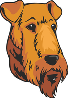 Airedale Terrier Dog Sticker