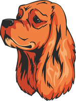 American Cocker Spaniel Dog Sticker