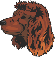 American Water Spaniel Dog Sticker