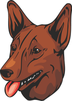 Australian Kelpie Dog Vinyl Sticker
