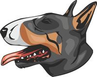 Bull Terrier Dog Sticker