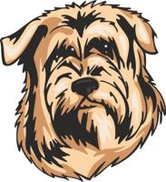 Glen of Imaal Terrier Dog Sticker