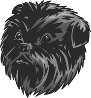 Affenpinscher Dog Sticker