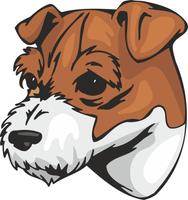 Jack Russel Terrier Dog Sticker