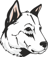 Kintamani Dog Sticker