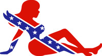 Sexy Girl In Confederate Flag