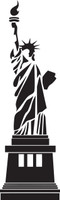 Lady Liberty Statue of Liberty #1 Decal