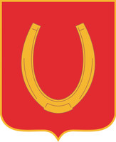 U.S. Army 100th Regiment distinctive unit insignia sticker