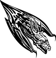 Dragon Bat Swoop To Kill Decal