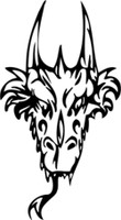 Dragon Head Frontal Decal