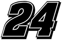 Jeff Gordon #24 Racing Decal