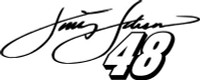 Jimmy Johnson #48 Racing Decal