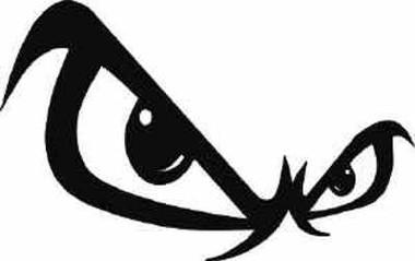 no fear eyes decal rh inkace com no fear logo skate backpack no fear logo vector free download