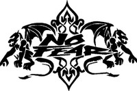 No Fear Gargoyles Decal