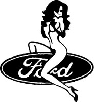 Ford Girl Decal