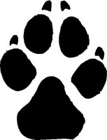 Dog Animal Track Decal