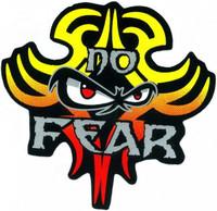 No Fear Hair Monster Sticker