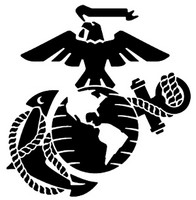 USMC Marine Corp Emblem Truck Decal