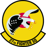 USAF Air Force 27th Fighter Squadron