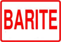 Barite Label