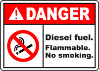 Diesel Fuel Flammable No Smoking