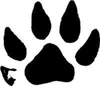 Mink Animal Track Decal