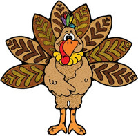 Happy Thanksgiving Day Turkey